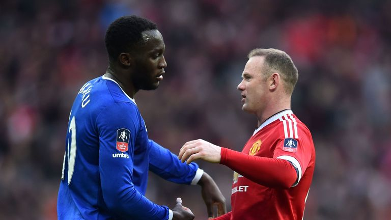 Wayne Rooney and Romelu Lukaku are set to switch places at Everton and United
