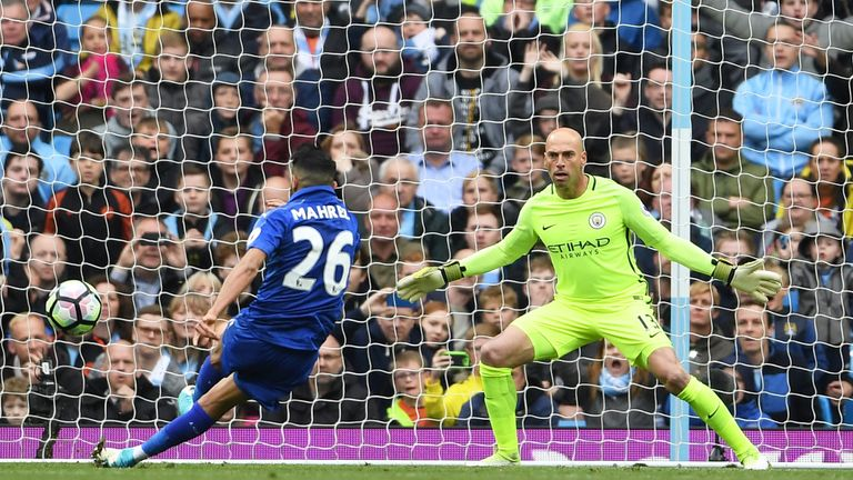 Man City beats Leicester 2-1 after bizarre penalty incident