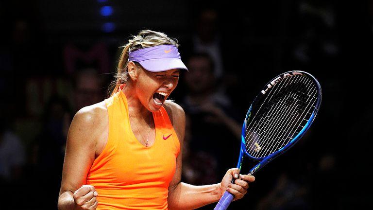 Maria Sharapova returned to action last month