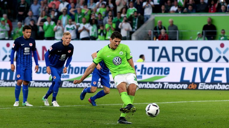 Mario Gomez scored the only goal of the game