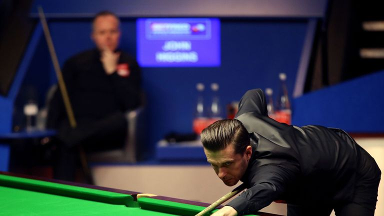 Mark Selby was a 4-1 winner