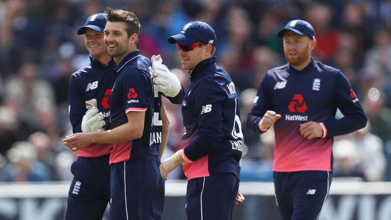 Sam Billings (left) had the gloves for England's two ODIs against Ireland earlier this month in Buttler's IPL absence