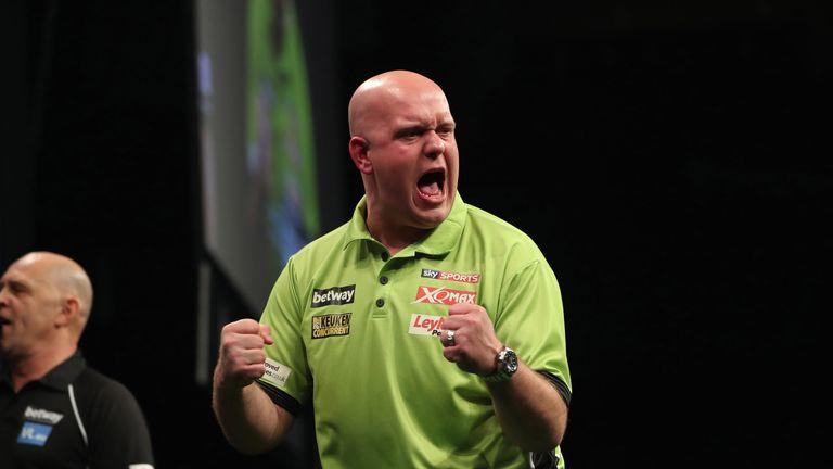 michael van gerwen will take on jan dekker in an all dutch tie
