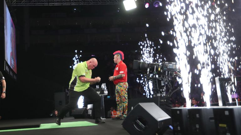 Playing in his fifth Premier League final, Michael van Gerwen claimed his third title in the tournament
