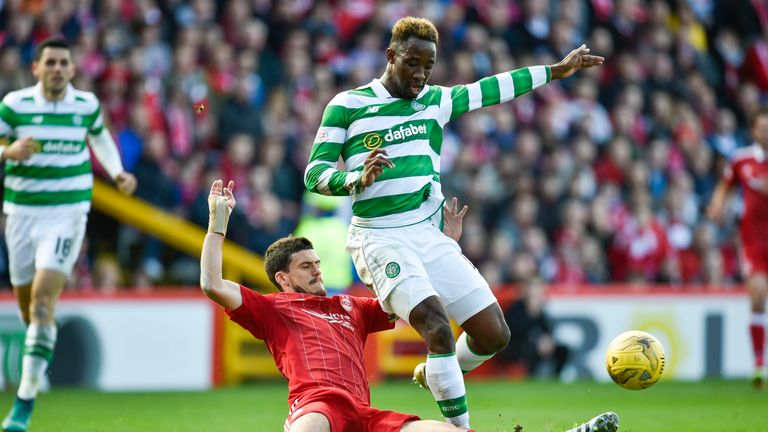 Moussa Dembele is available for the Scottish Cup final