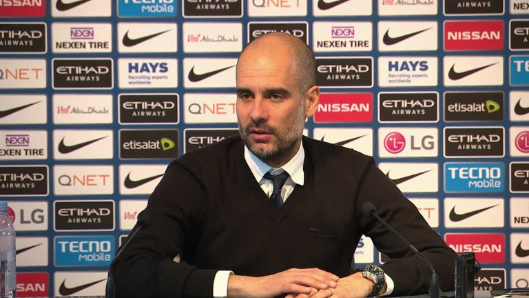 Pep Guardiola criticised UEFA for letting the transfer window roll until August 31