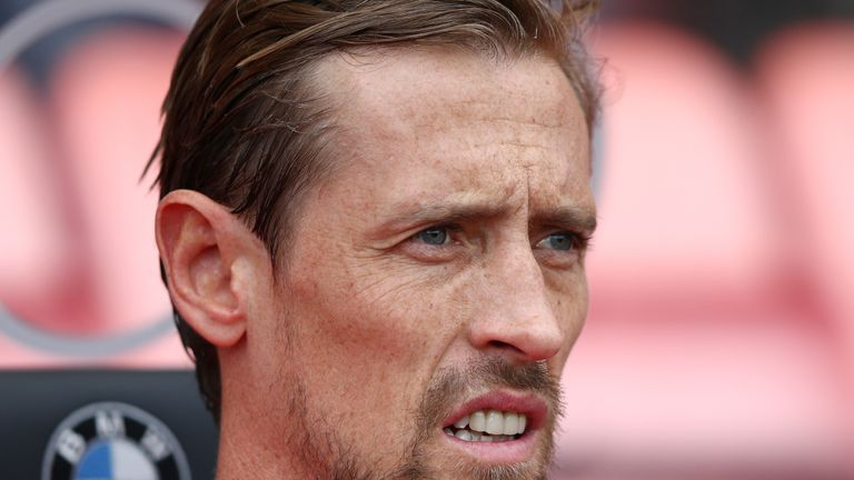 Peter Crouch will feature in the Game4Grenfell charity game on Saturday