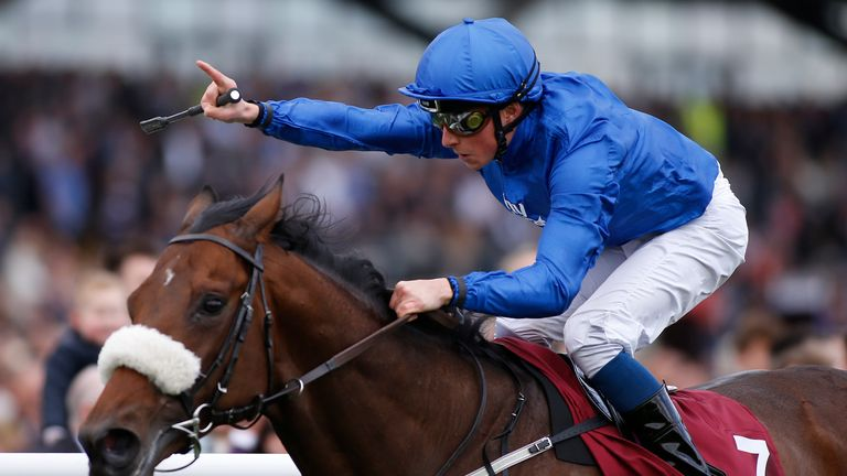 William Buick and Ribchester were easy winners of the Lockinge Stakes