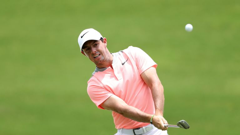 McIlroy missed the cut in last year's event at Oakmont