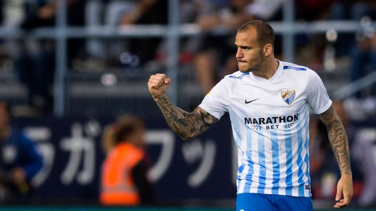Sandro Ramirez started against Macedonia in Gdynia