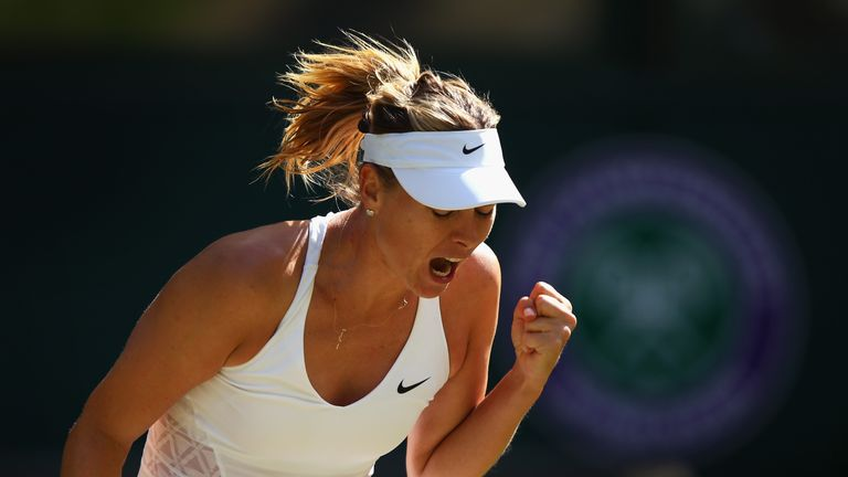 Maria Sharapova needs to win three qualifying rounds if she is to play at Wimbledon