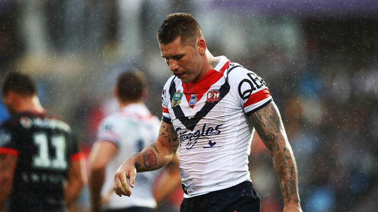 Shaun Kenny-Dowall has been stood down by the Roosters