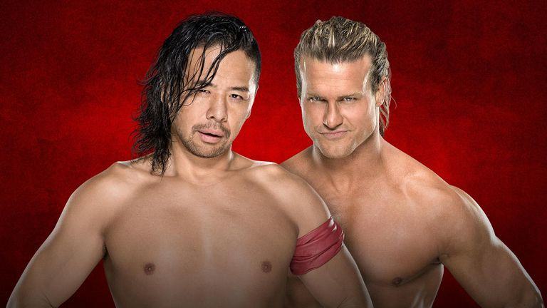 Shinsuke Nakamura vs Dolph Ziggler should be one of the stand out matches at WWE Backlash