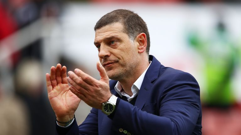 Slaven Bilic: Already setting his targets for next season
