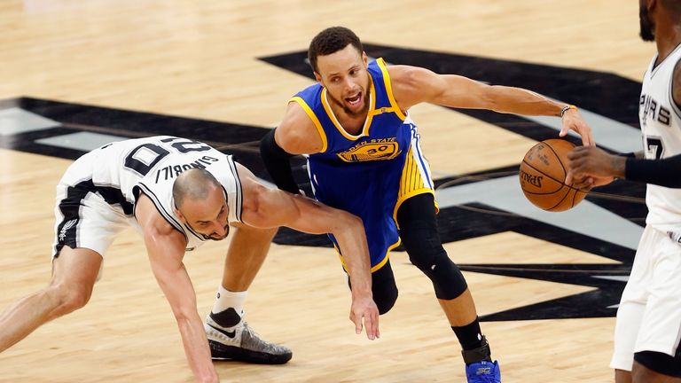 Warriors slide into another NBA Final