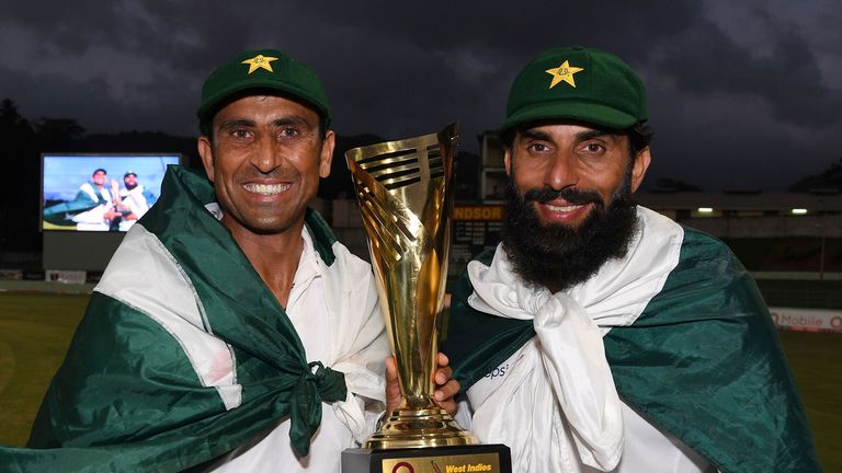 Younus Khan and Misbah-ul-Haq bowed out with silverware