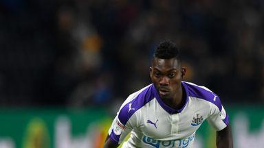Christian Atsu spent last season on loan at Newcastle