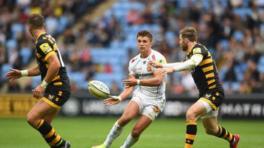 Exeter's Henry Slade and Wasps' Elliot Daly will face off in the midfield on Sunday