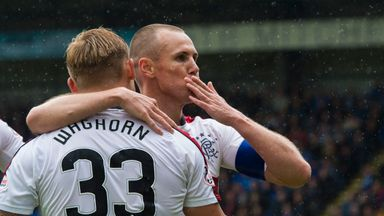 Kenny Miller scored as Rangers ended the season with a victory