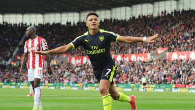 Arsene Wenger will have Alexis Sanchez in his squad at Anfield this weekend