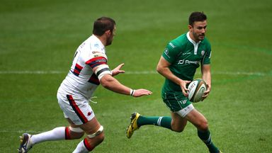 Tommy Bell kicked 19 points to put London Irish in command
