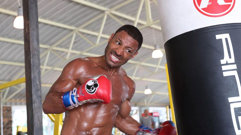 KELL BROOK TRAINING.