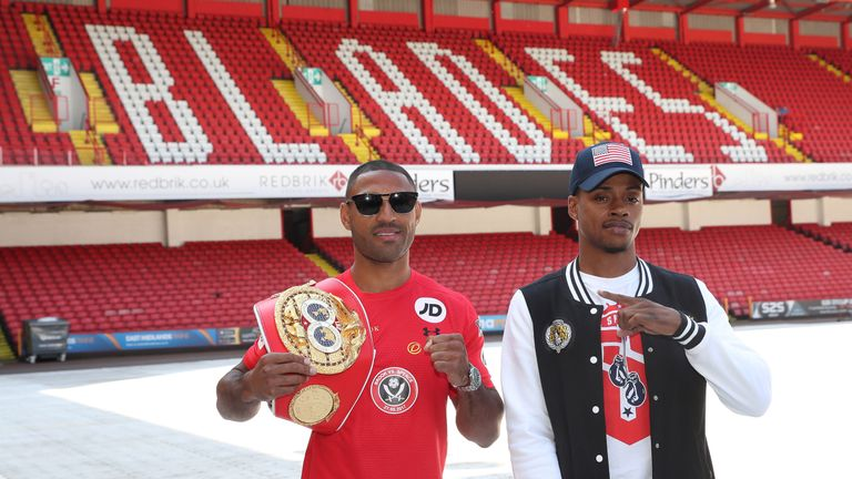 SHEFFIELD BOXING PRESS CONFERENCE