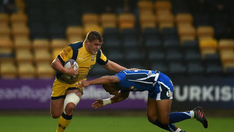 Jack Singleton  of Worcester Warriors