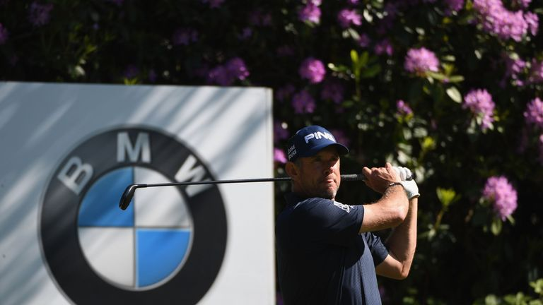 Lee Westwood during day two of the BMW PGA Championship at Wentworth