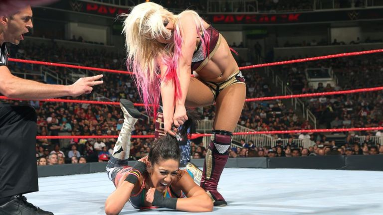 Alexa Bliss and Bayley put on a show in San Jose.