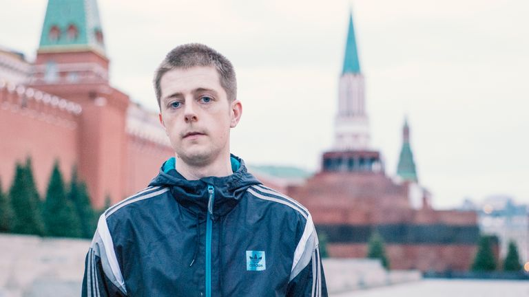 Rhys Chapman, WONDERKID screening, Moscow, Russia