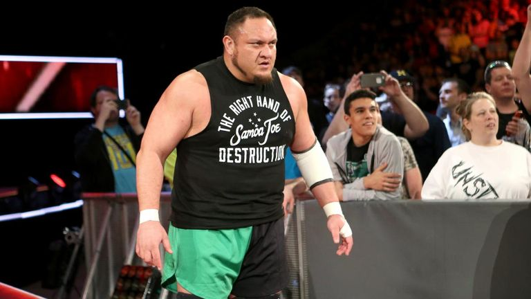 Samoa Joe made a huge statement ahead of the 'fatal 5-way' at Extreme Rules.
