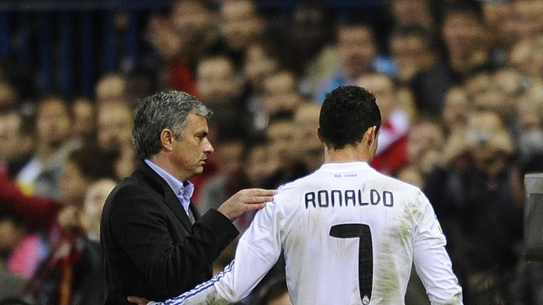 Relations at Real Madrid between Ronaldo and Mourinho became strained towards the end of his first season at the club