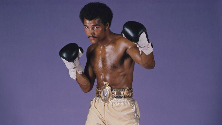 Former WBC world light-heavyweight champion John Conteh pictured in November 1975