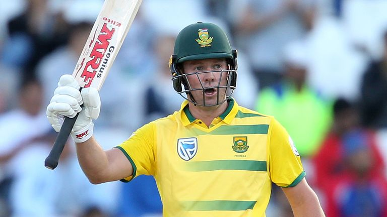 AB de Villiers is stepping down as South Africa ODI captain