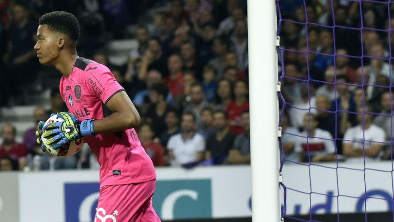 France goalkeeper Alban Lafont