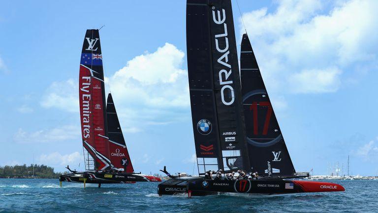 New Zealand beats Oracle in America's Cup opener in Bermuda