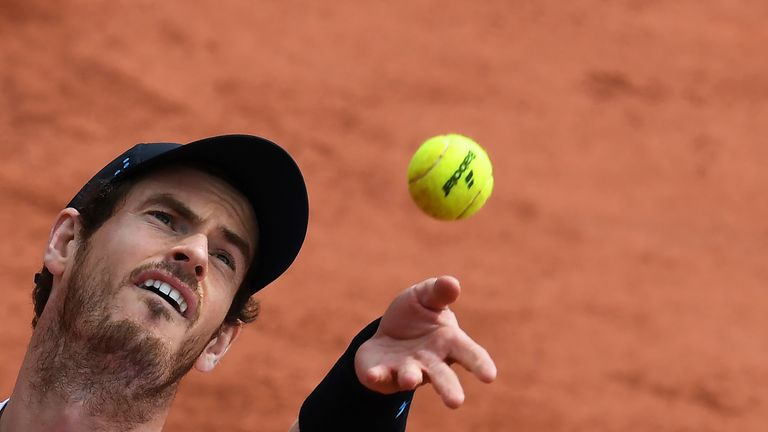 Andy Murray's French Open hopes were crushed by Stan Wawrinka