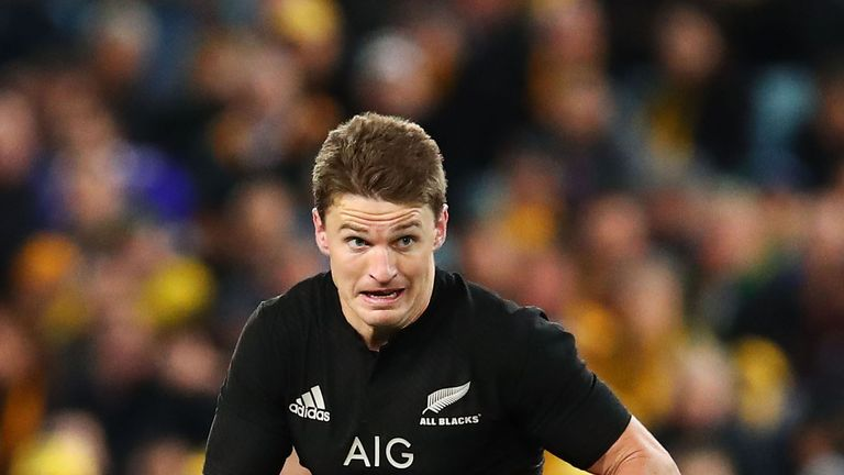 Beauden Barrett believes the All Blacks are better equipped to combat a rush defence since their Test series against the Lions
