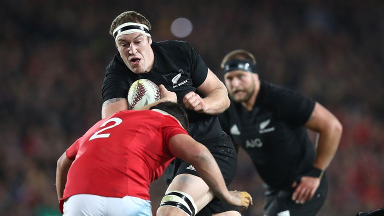 Brodie Retallick was our top All Blacks player