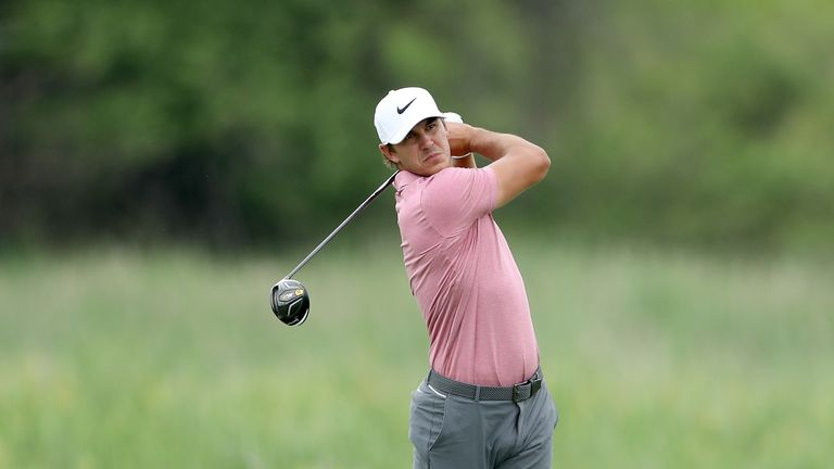 Koepka during the third round of the US Open at Erin Hills