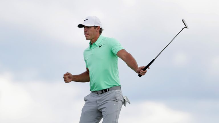 Koepka finished four shots clear of the chasing pack at Erin Hills