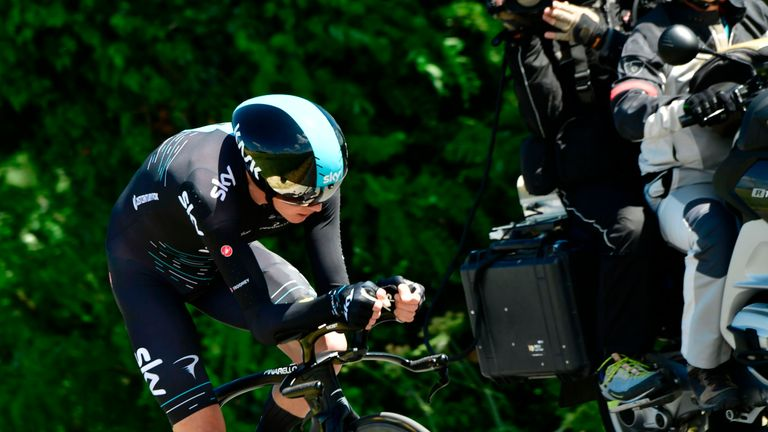 There are just 36.5kms of time trialling at the Tour de France this year
