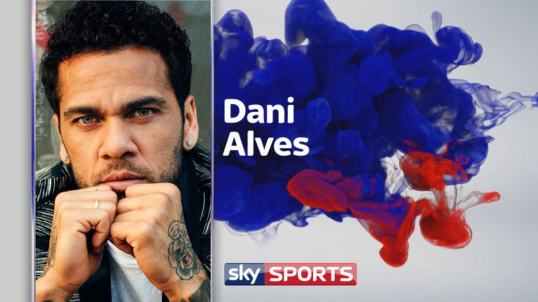 Dani Alves for The Players' Tribune (credit: Sam Robles/The Players' Tribune)
