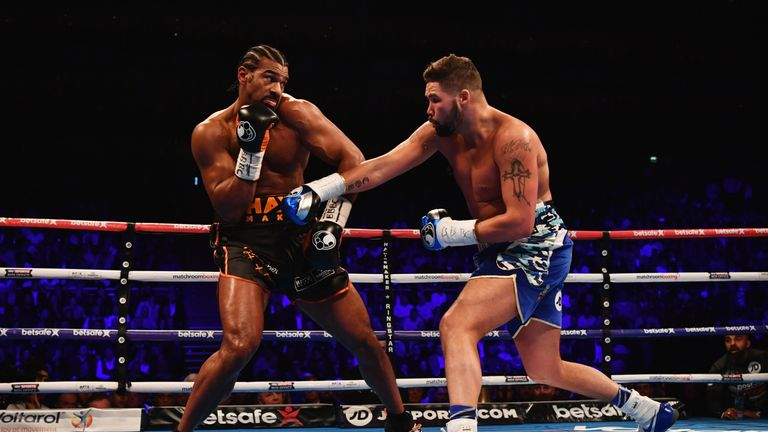 Tony Bellew defeated David Haye after stepping up to heavyweight for their grudge fight in March