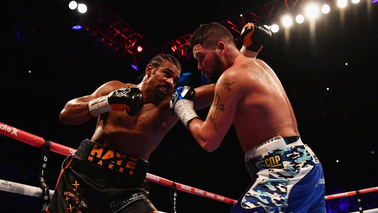 Haye v Bellew: back on Box Office