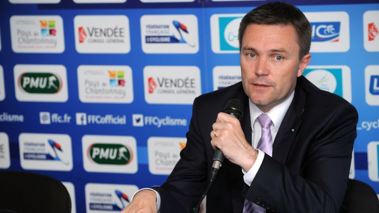 David Lappartient will bid to become UCI president later this year