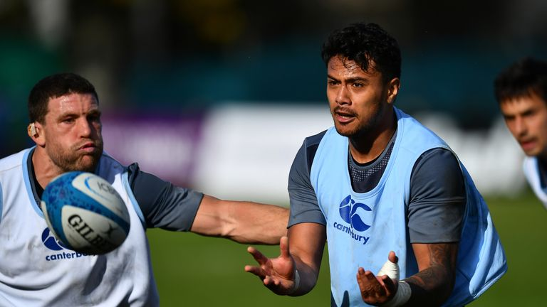 Denny Solomona was sent home from a recent England training camp