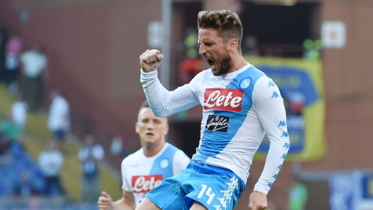 Dries Mertens has a release clause of just €28million at Napoli