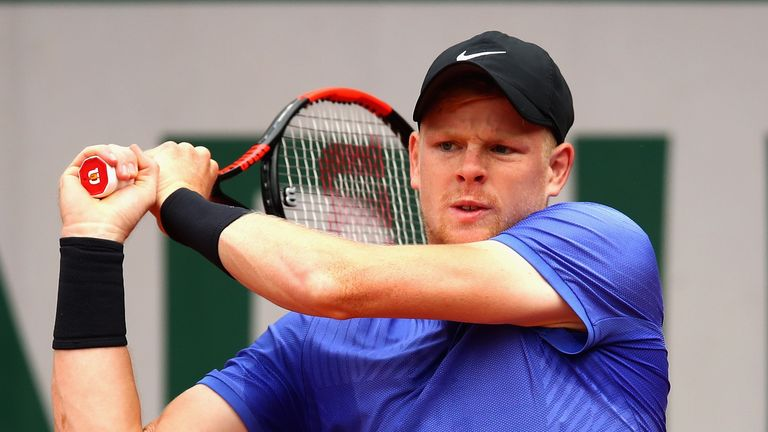 Kyle Edmund´s French Open campaign at an end